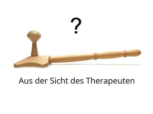 Backrelease Triggerpunkt Massagegerät aus der Sicht des Therapeuten