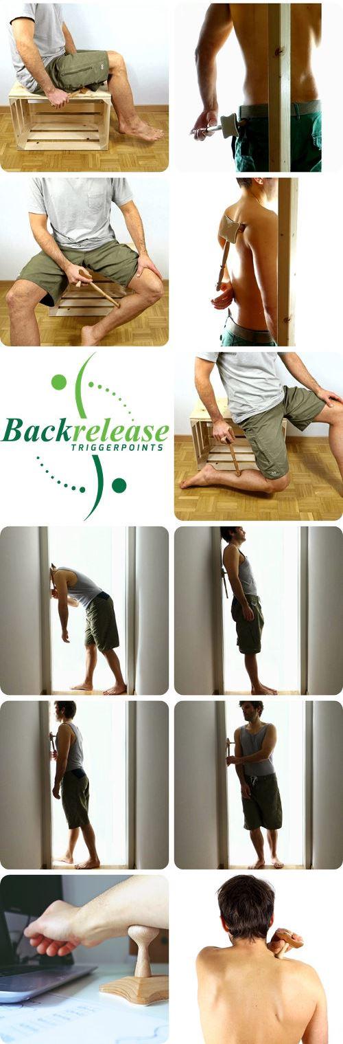 Multifunktionales Triggerpunkt Massagegerät für Schulter und Nacken