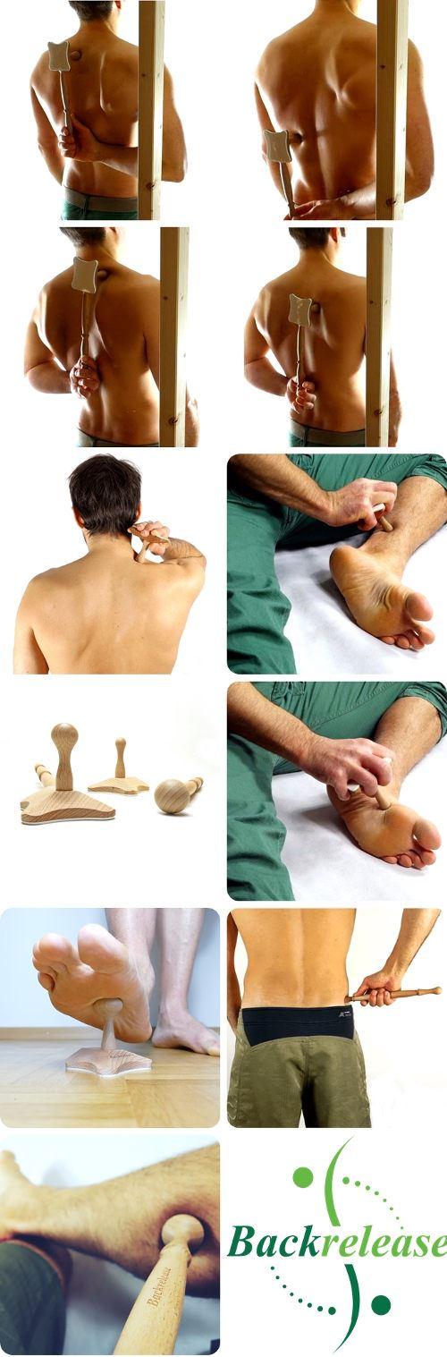Multifunktionales Triggerpunkt Massagegerät für den Rücken