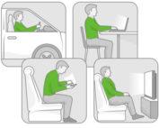Wie uns das ständige Sitzen auf Dauer schädigt